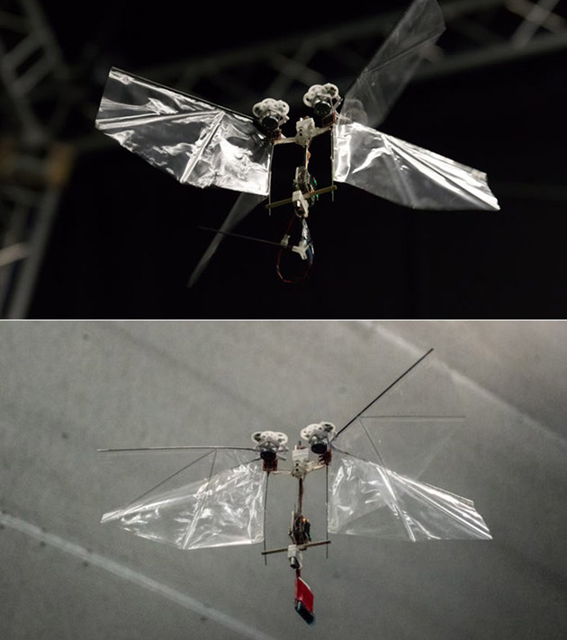 DelFly Nimble Flying Robot