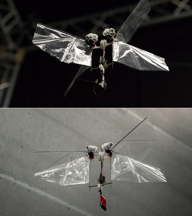 DelFly Nimble Flying Robot