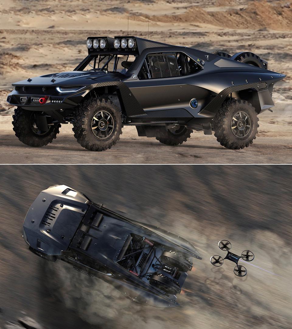 Desert Storm Trophy Truck