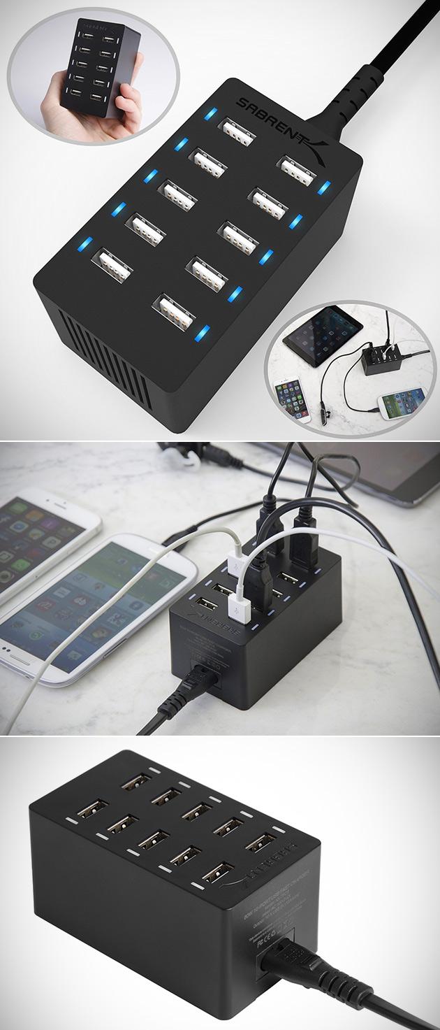 Desktop USB Charger