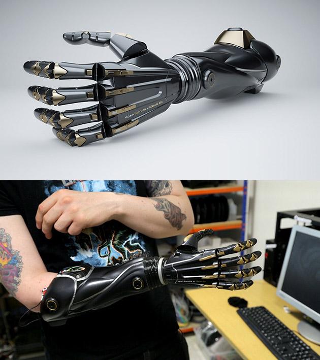Deus Ex Bionic Arm
