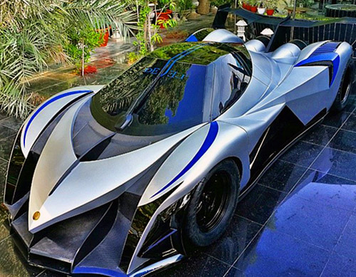 video shows devel sixteen the world 39 s first 5000. Black Bedroom Furniture Sets. Home Design Ideas