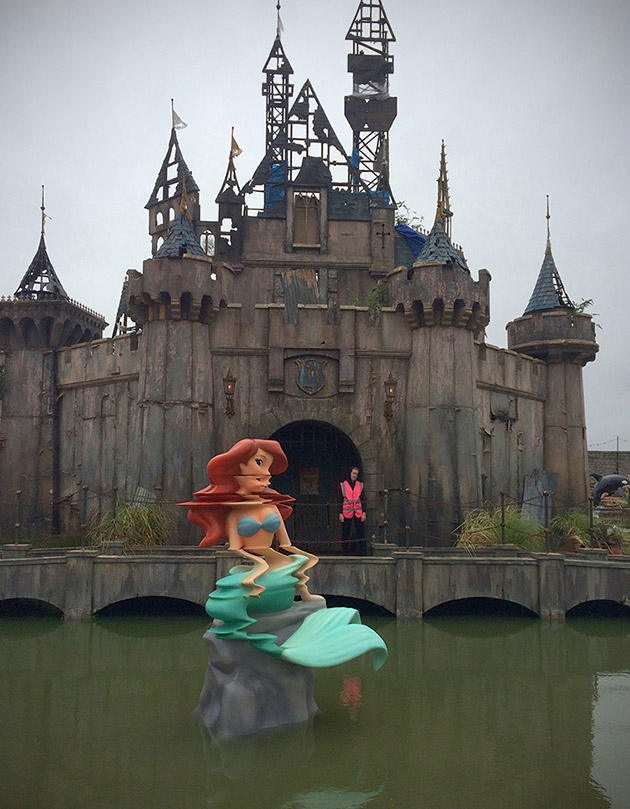 Dismaland by Banksy Shows How Disneyland Would Look After ...