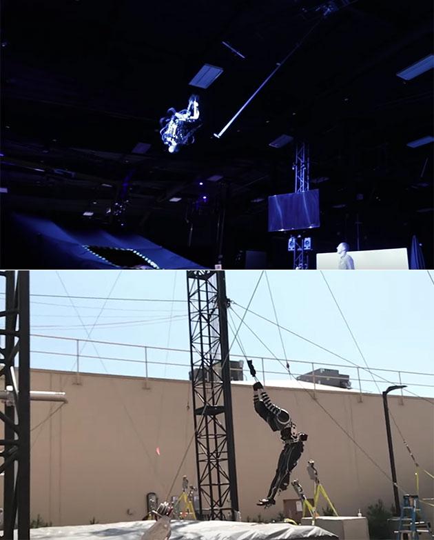 Disney Flying Robot