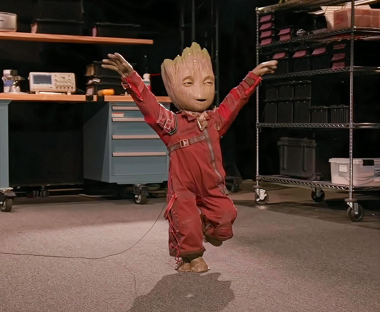Disney Imagineering Project Kiwi Groot Robot