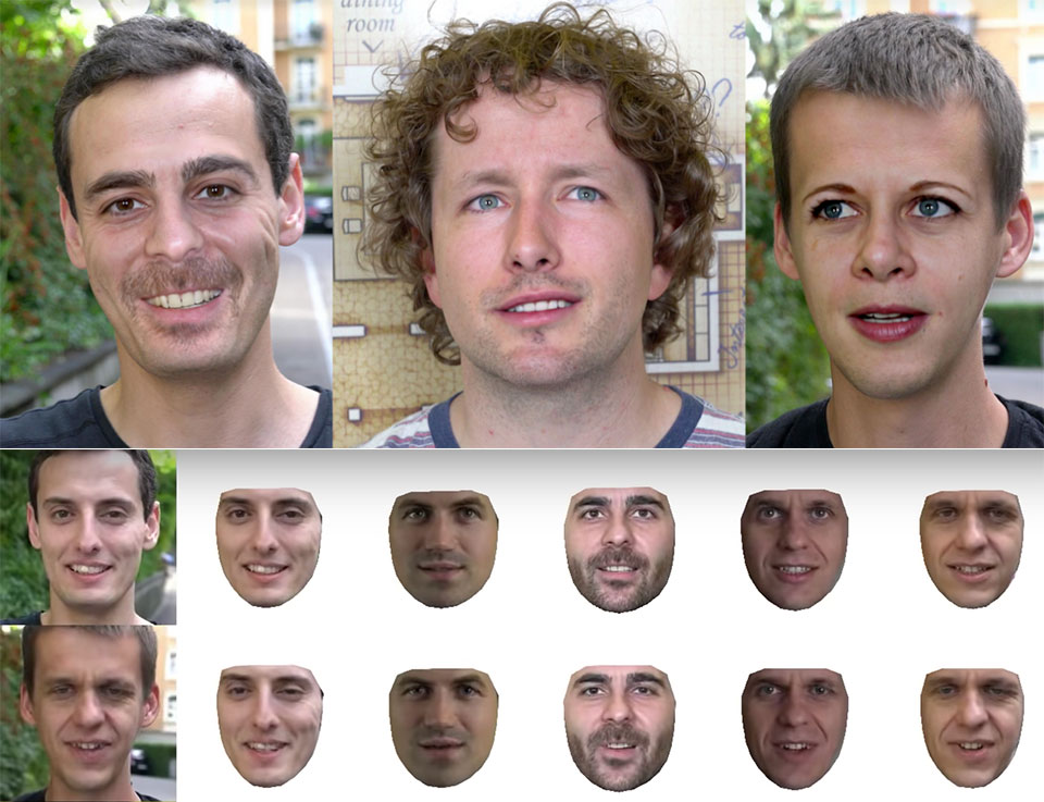 Disney Research Deepfake Automatic Neural Face Swapping