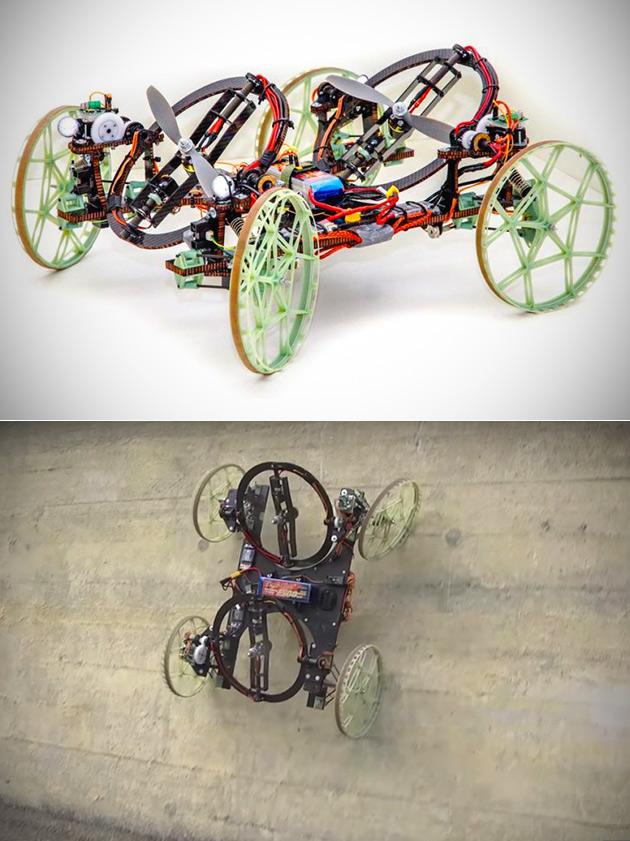 Disney Research VertiGo Wall-Climbing Robot