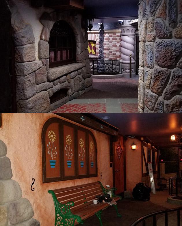 Disneyland Fantasyland Basement