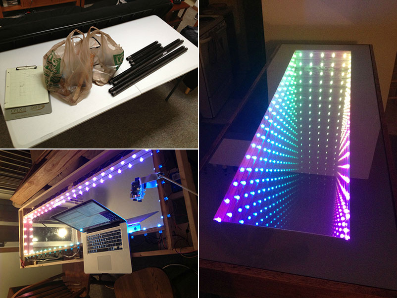 DIY Infinity Table