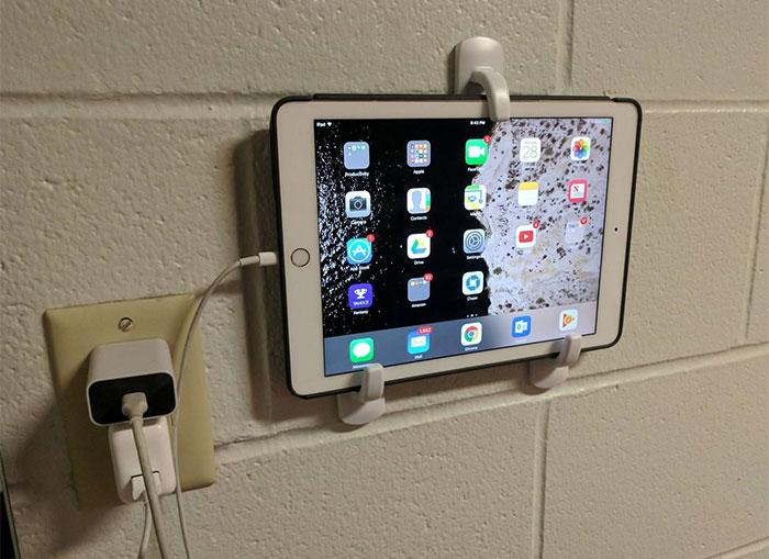DIY iPad Holder