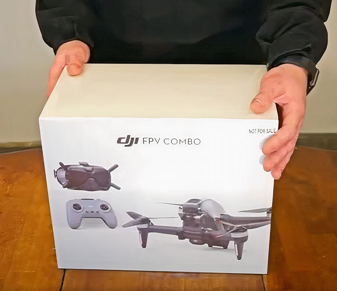 DJI First-Person View Combo Drone Unboxing
