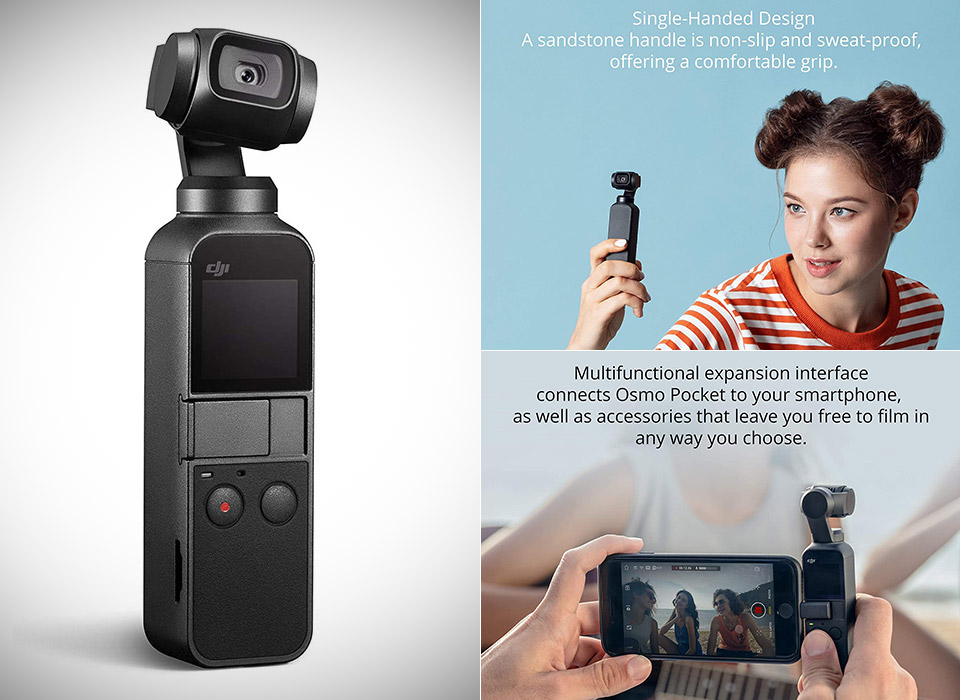 DJI Osmo Pocket 4K Camera