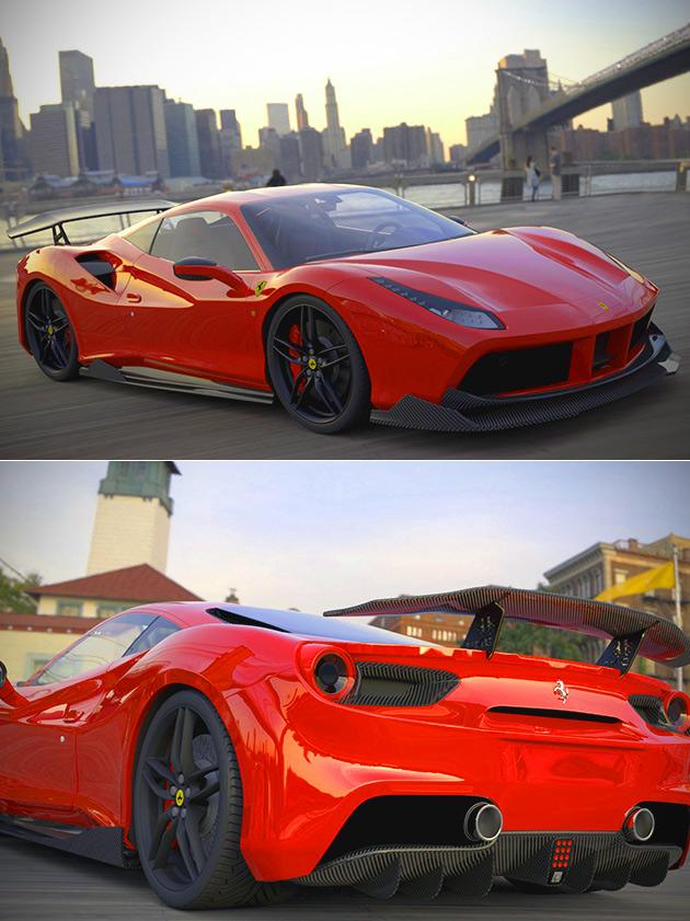 DMC Ferrari 488