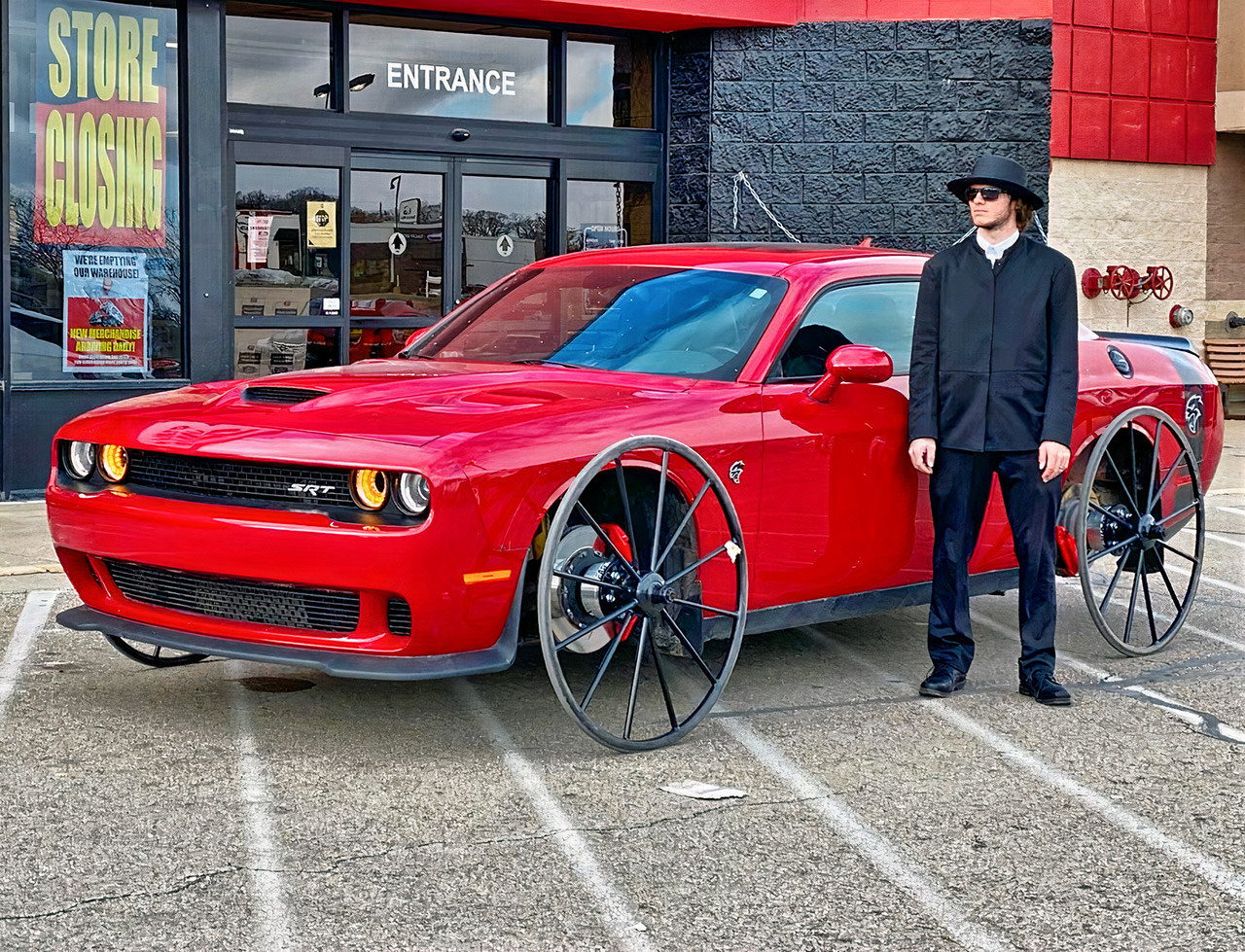 Dodge Challenger SRT Hellcat Buggy Wheels