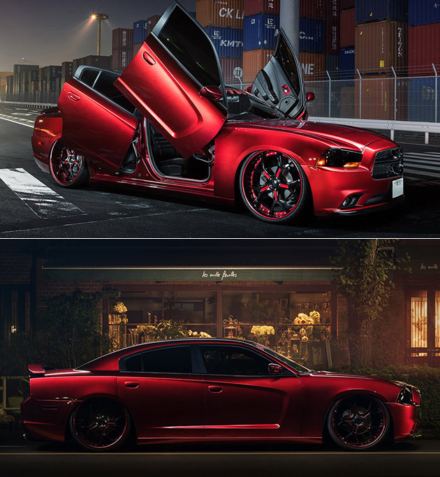 Dodge Charger Scissor Doors
