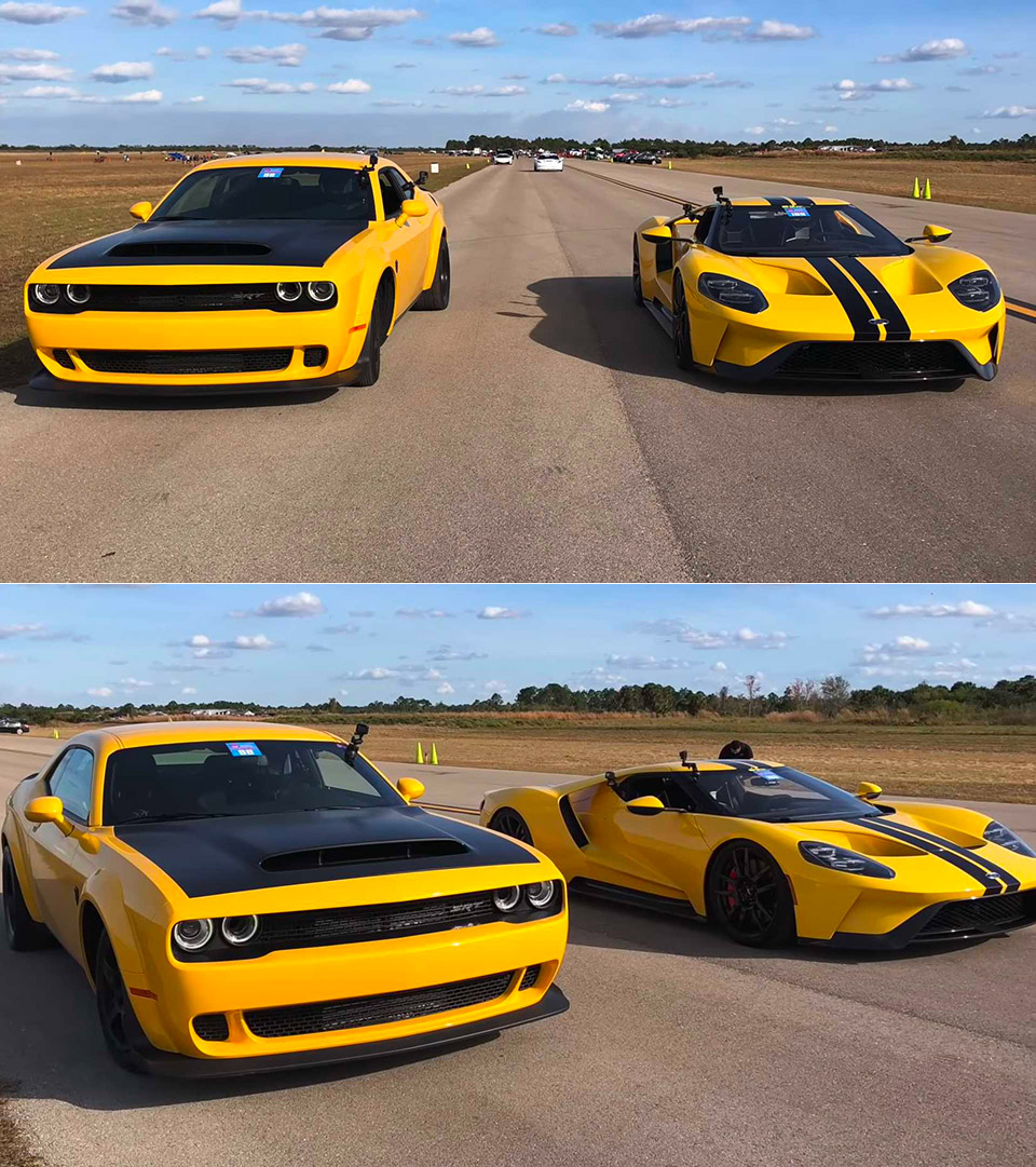 Dodge Demon Ford GT