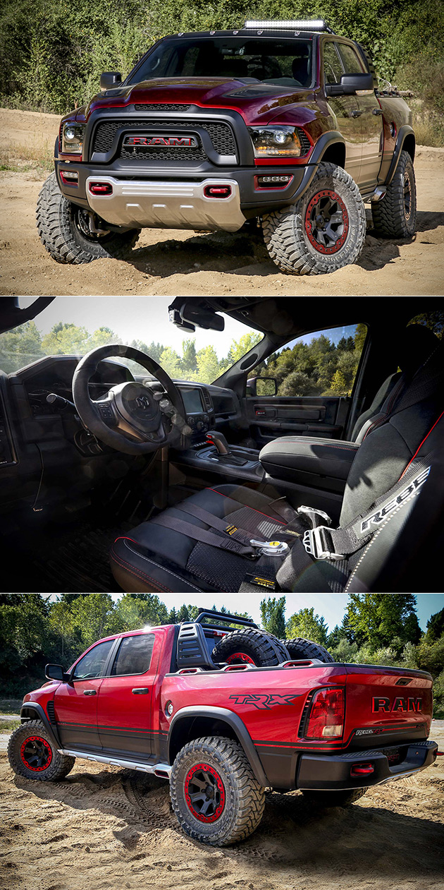 Ram 6 4 Hemi >> Dodge Ram Rebel TRX Concept is Powered by Supercharged ...