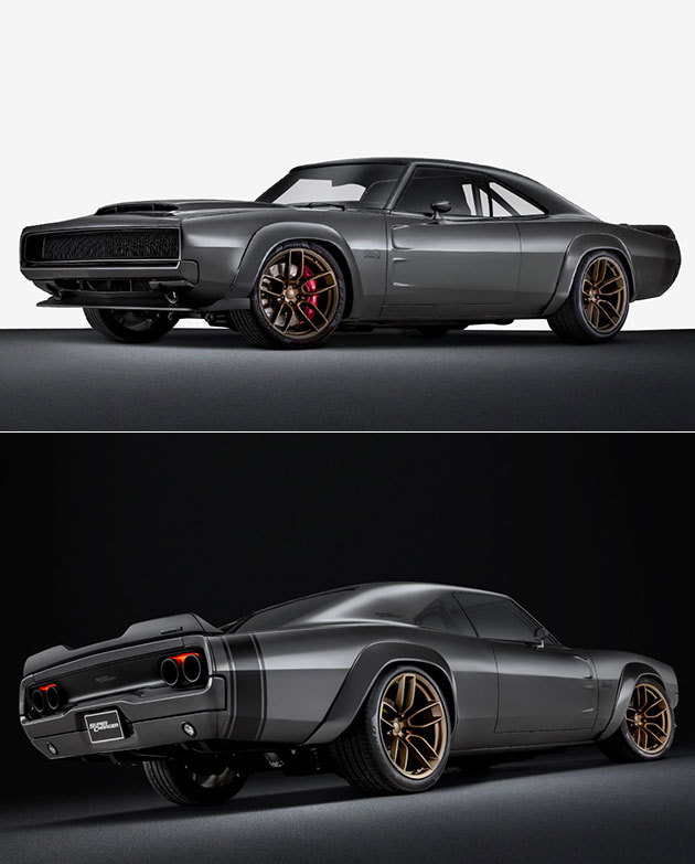 1968 Dodge Super Charger Hellephant Boasts 1 000hp 426