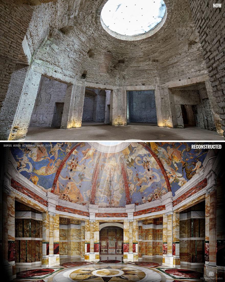 Domus Aurea Octagonal Court