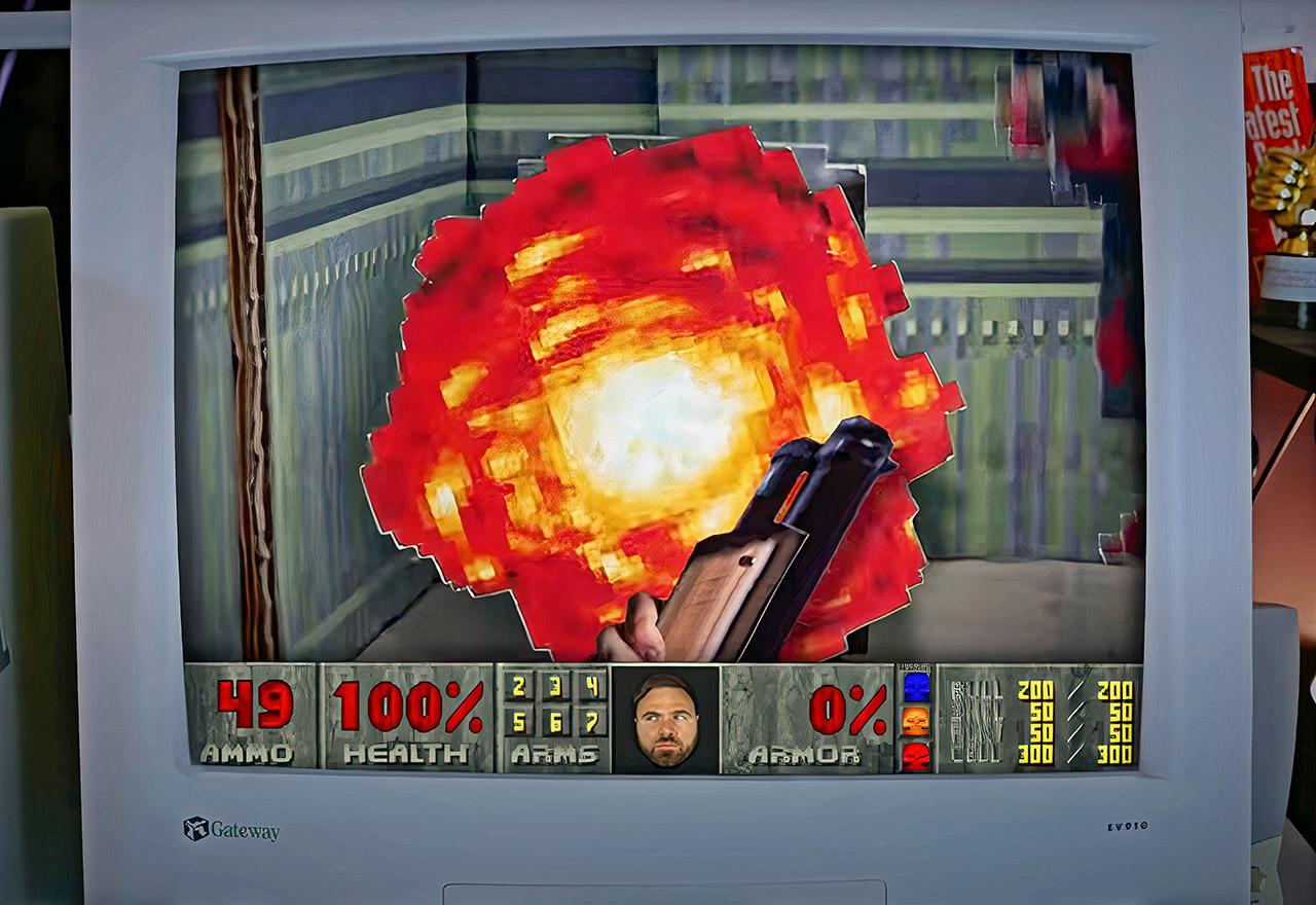 Doom 2 Cardboard