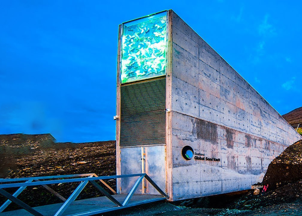 Doomsday Vault Svalbard Hottest Temperature