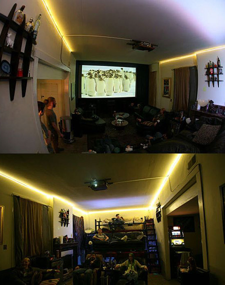 Engineering Students Build The Ultimate Dorm Room Theater With Stadium Seating Techeblog