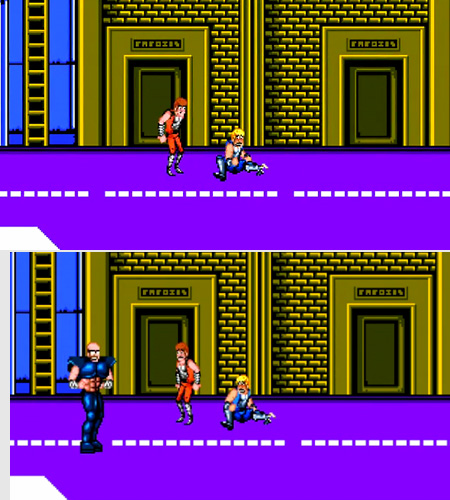 One Person Double Dragon S Billy And Jimmy Lee Are Afraid Of Techeblog