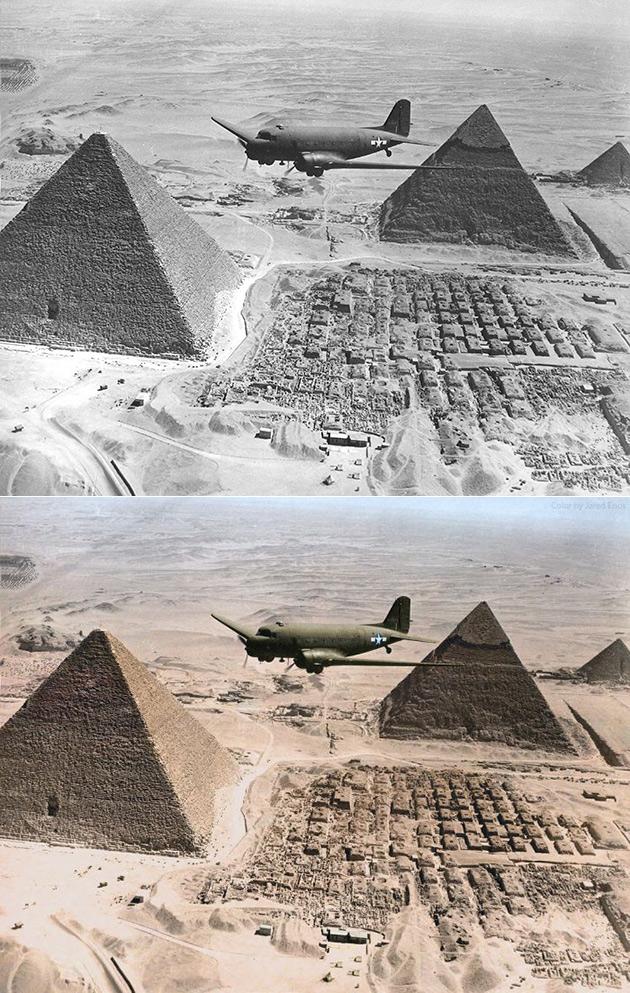 Douglas C-47 Skytrain Pyramids