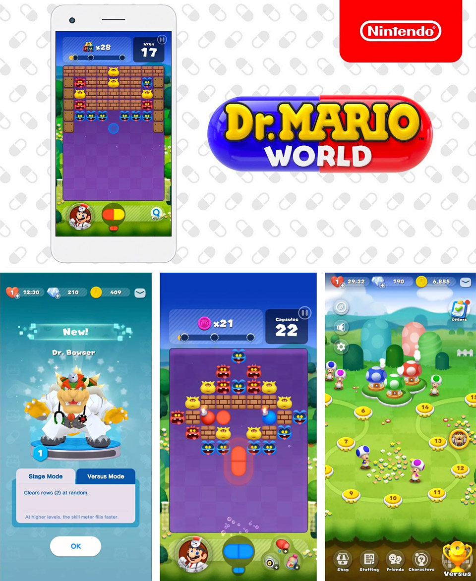 Dr. Mario World Release