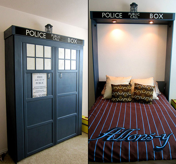 Dr. Who Tardis Bed