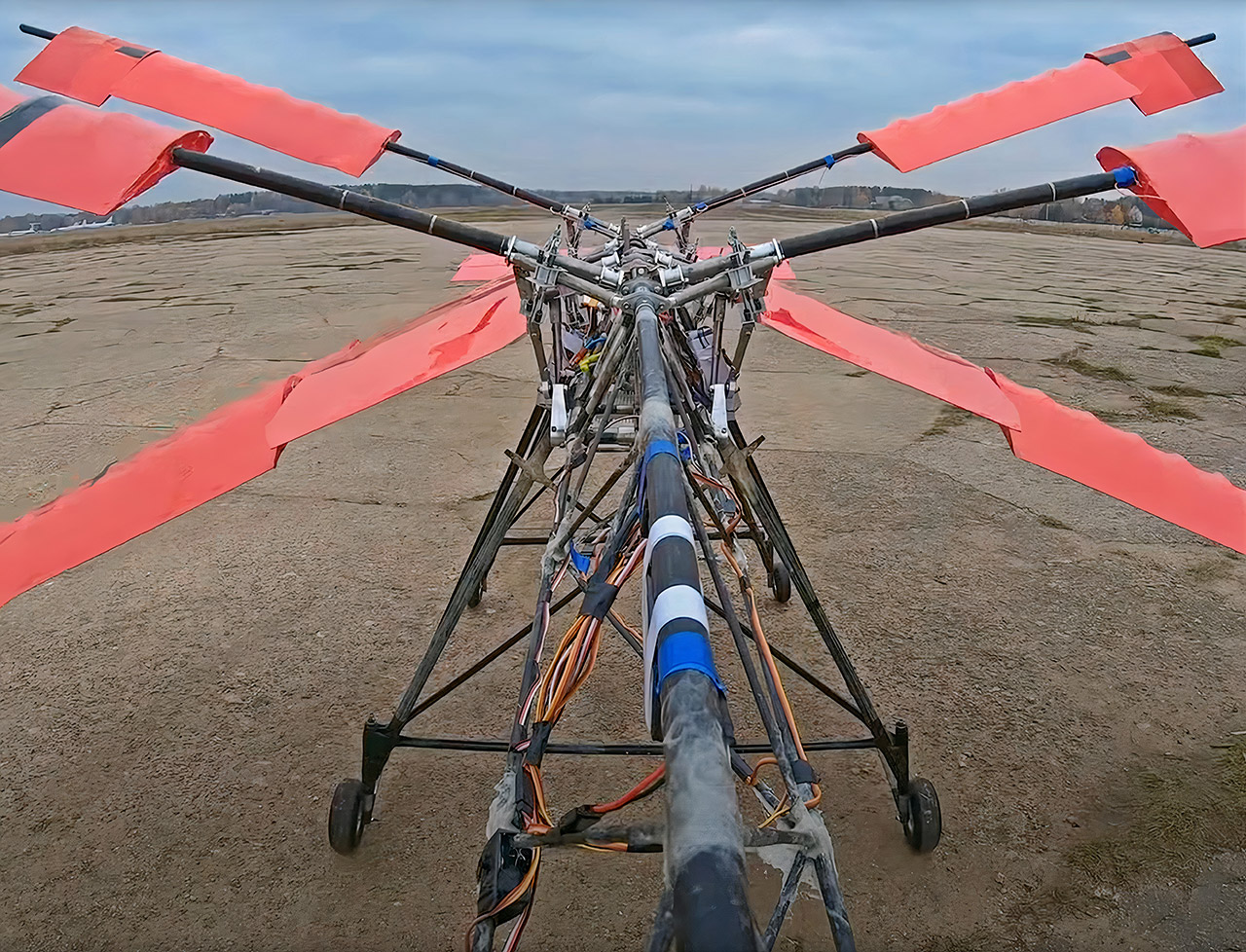 Dragonfly RC Ornithopter