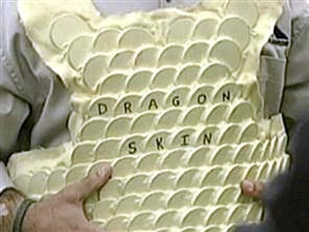 Feature: Body Armor Withstands M67 Grenade Blast, Looks Like Dragon Skin