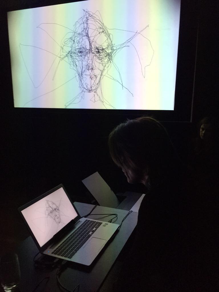 Eye Tracker Drawing