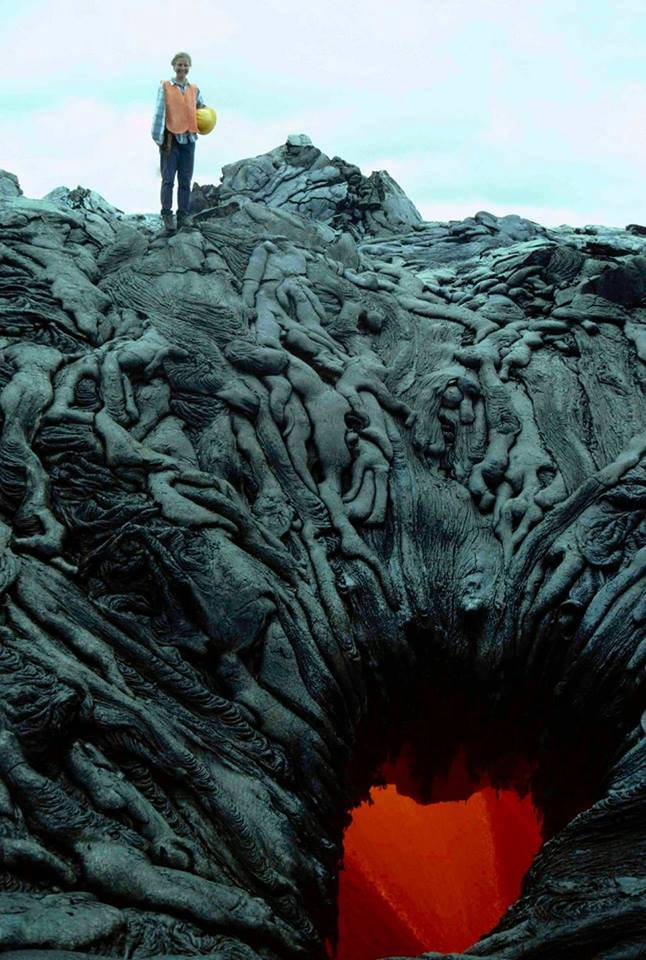 Dried Lava Bodies