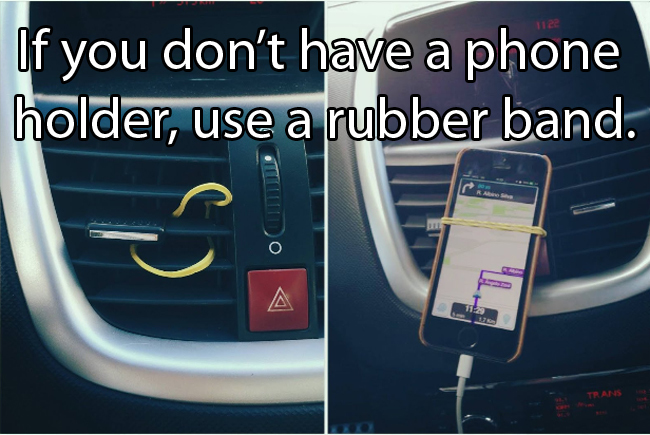 Driving Life Hack