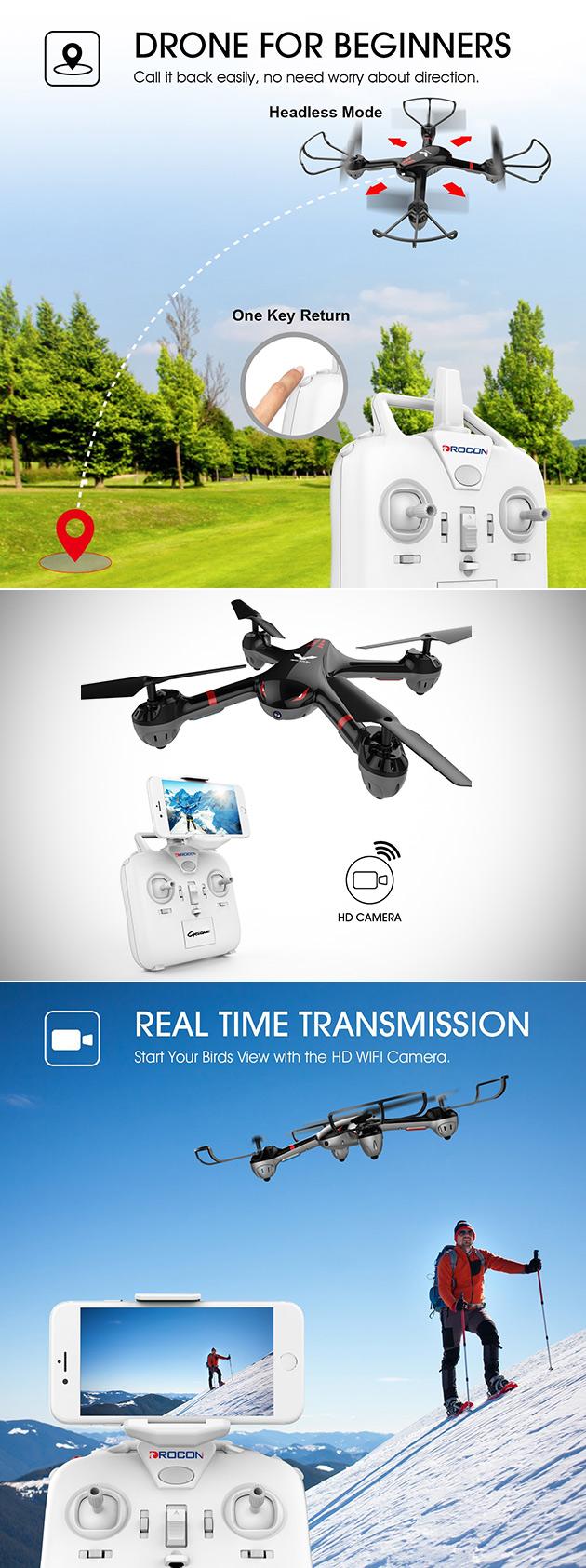 Drocon X708W Drone