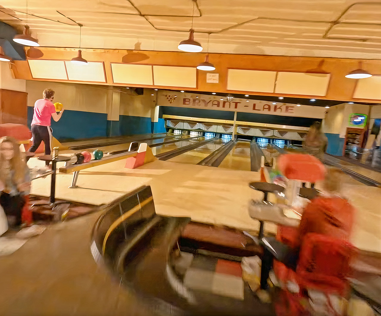 Drone Bowling Alley