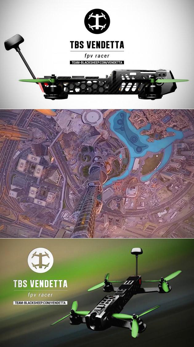 Drone Burj Khalifa