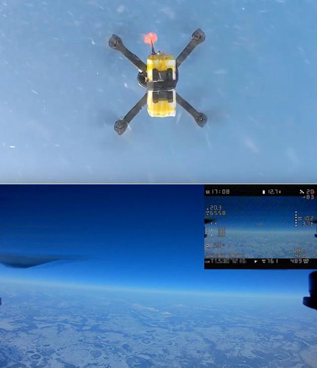 Drone High Altitude
