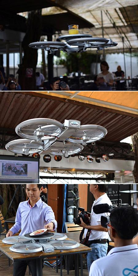 Drone Restaurant Singapore