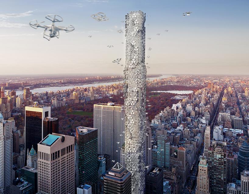 Drone Skyscraper