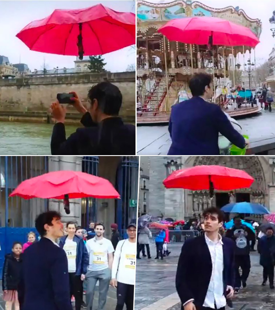 Drone Umbrella DroneBrella