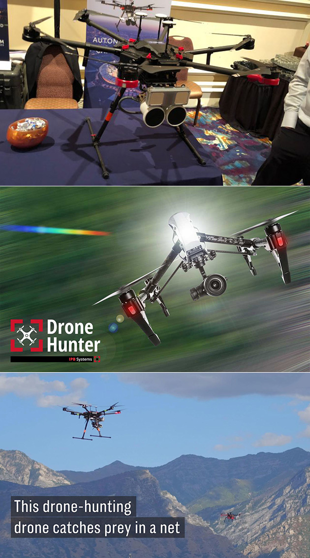 DroneHunter Drone-Hunting Drone