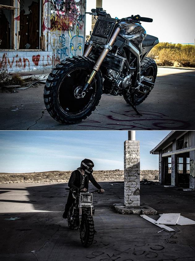 Droog Suzuki Moto 11