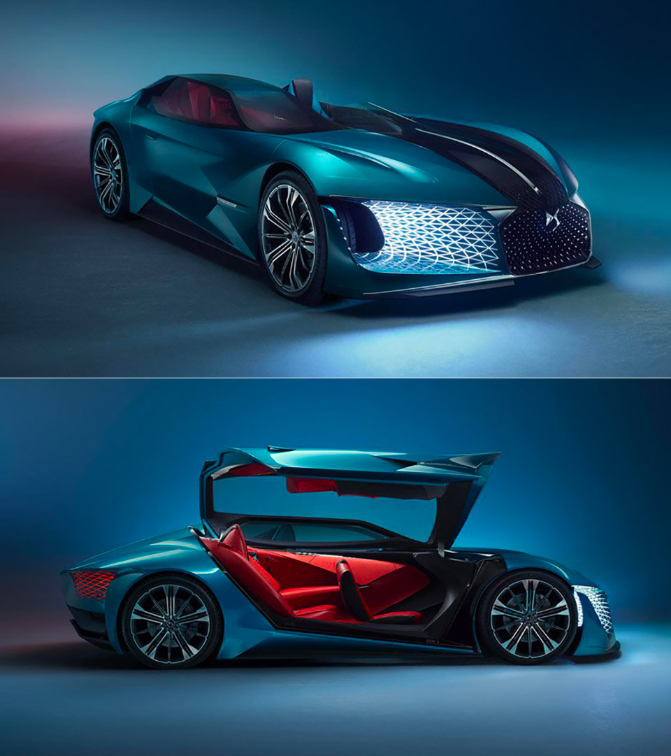 DS X E-Tense Supercar