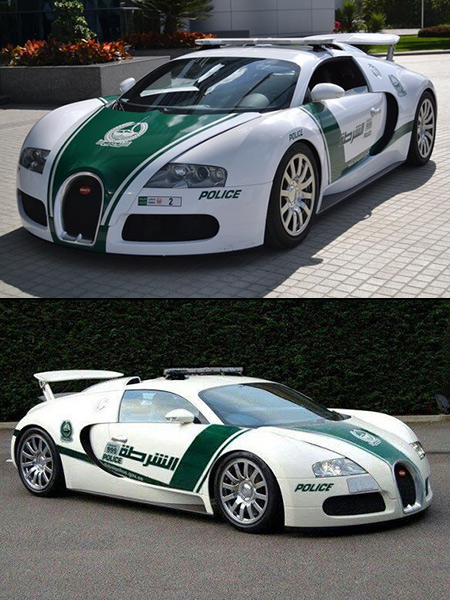 Dubai Police Force Adds 1 6 Million Bugatti Veyron To