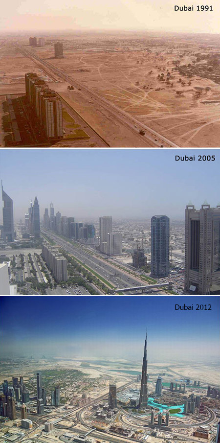 Mind-Blowing Growth of Dubai: Then vs. Now - TechEBlog