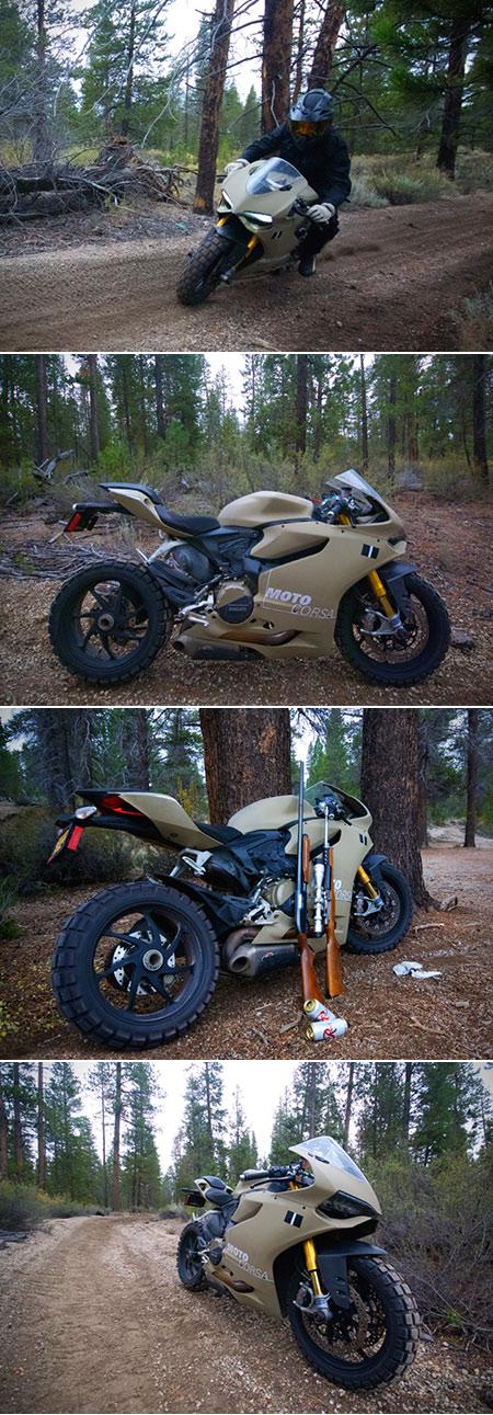 Ducati 1199 Panigale TerraCorsa Off-Road Superbike