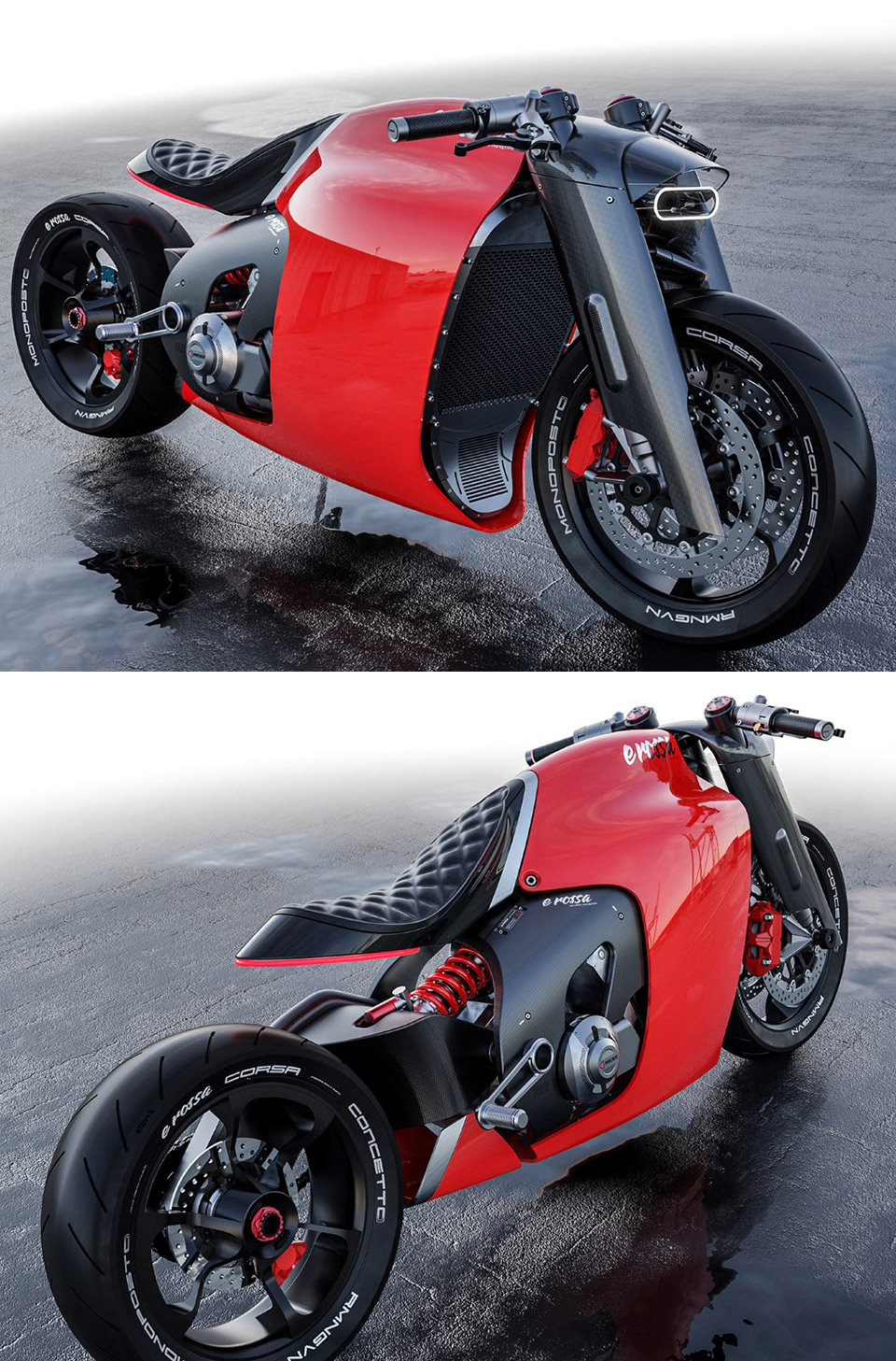 Ducati e Rossa Electric Motorcycle