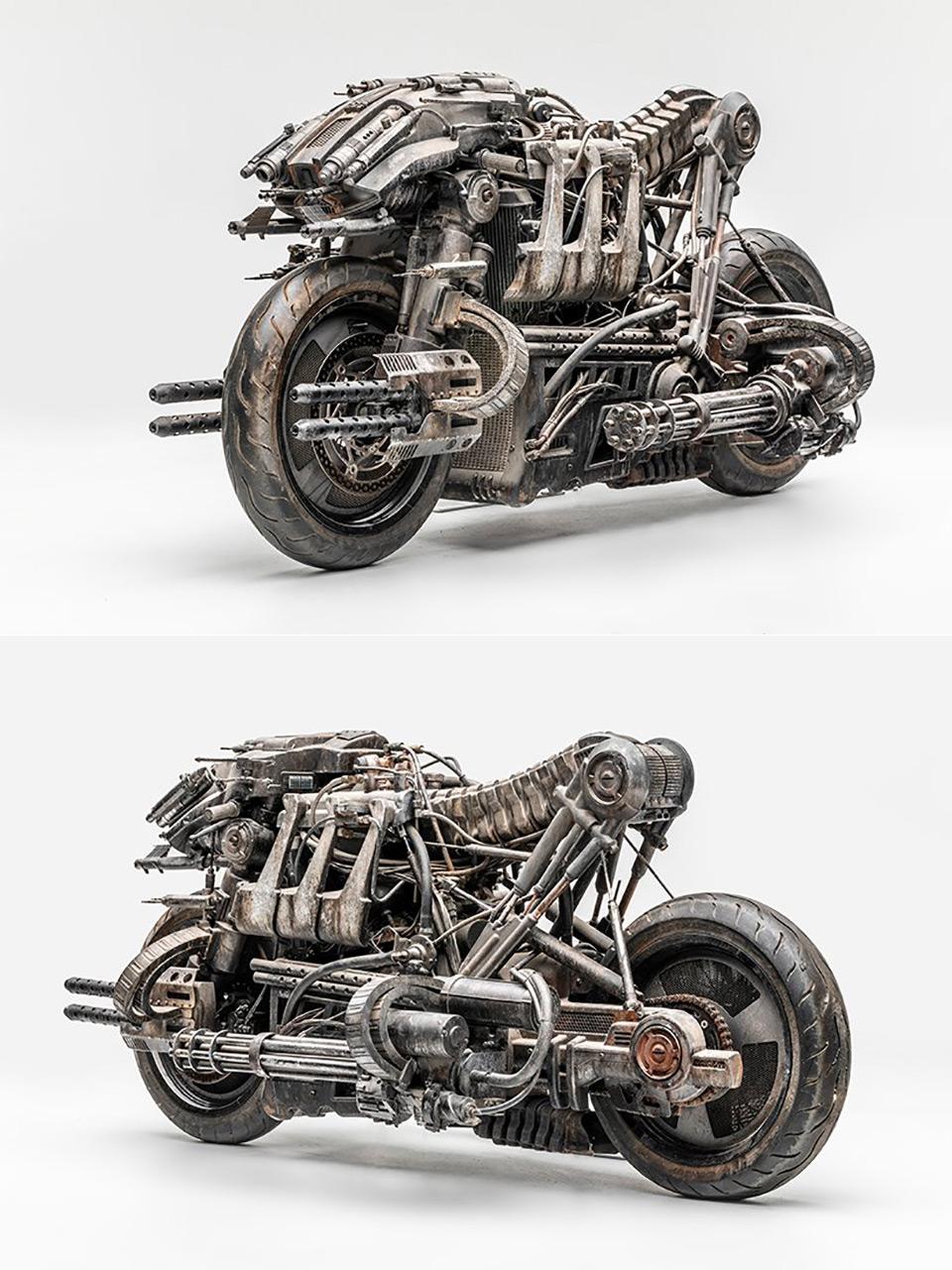 Ducati Hypermotard 1100 Terminator Salvation